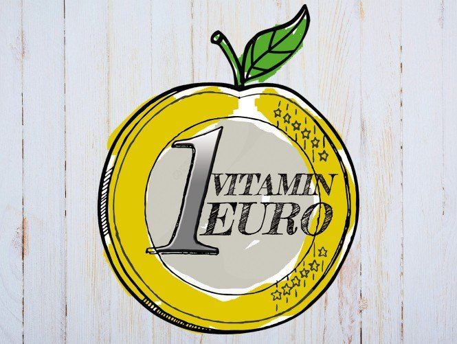 SPAR Vitamin Euro in Apfel-Form