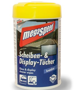 megaspeed Scheiben- & Display-Tücher