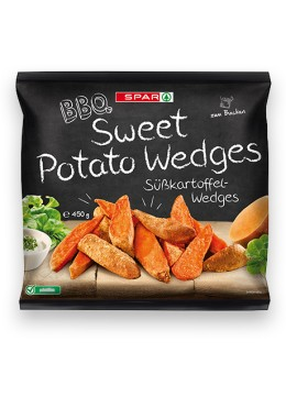 SPAR BBQ Sweet Potato Wedges