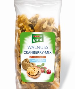 SPAR Vital Walnuss Cranberry-Mix