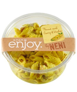 SPAR enjoy by Neni Penne mit Curry & Huhn