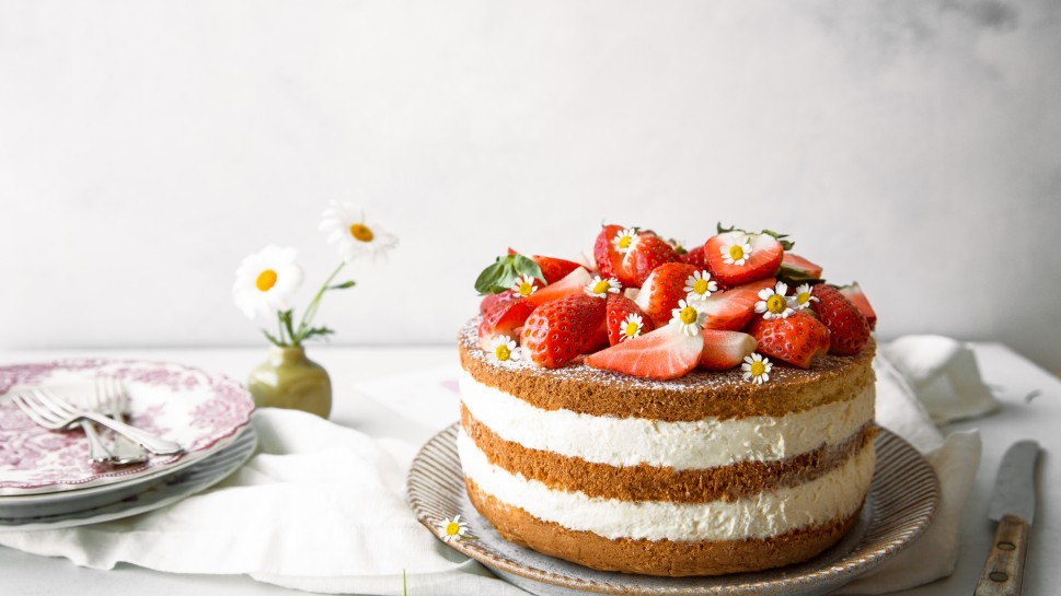 Naked Cake Backen mit Christina