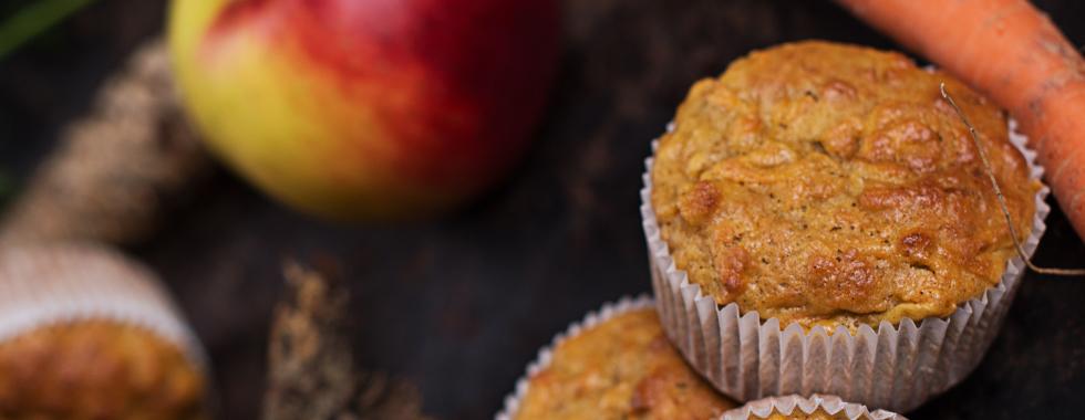 Haferflocken Apfel Karotten Muffins Rezepte Spar Osterreich