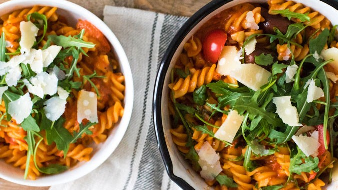 Scharfe One-Pot-Pasta