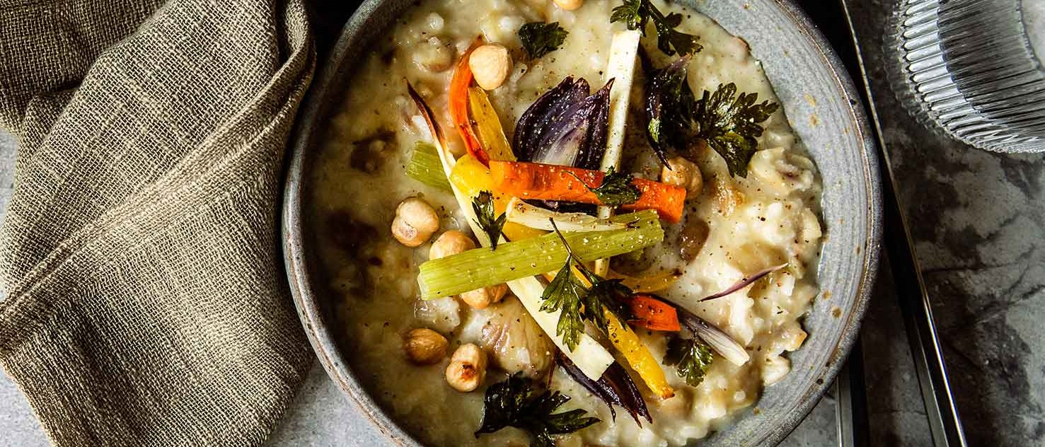 Vegetarisches Maroni-Risotto