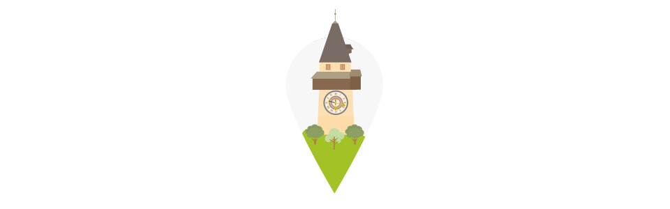 Steiermark Standort Illustration