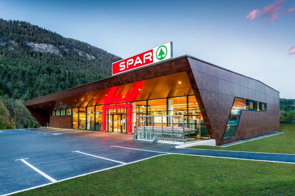 Visualisierung SPAR-Supermarkt Bad Bleiberg