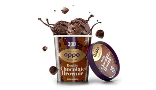 Oppo Eiscreme - Double Chocolate Brownie